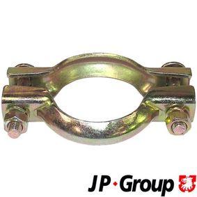 JP GROUP Częsć zaciskowa, układ wydechowy 1221400510 kupować online całodobowo