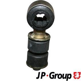 Comprar y reemplazar Juego de reparación, suspensión del estabilizador JP GROUP 1240400210