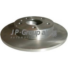 Disco freno 1263200200 con un ottimo rapporto JP GROUP qualità/prezzo
