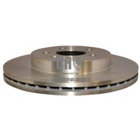 Disco de travão 1363102609 com uma excecional JP GROUP relação preço-desempenho