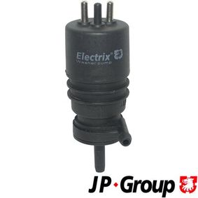 koop JP GROUP Reinigingsvloeistofpomp, koplampreiniging 1398500200 op elk moment