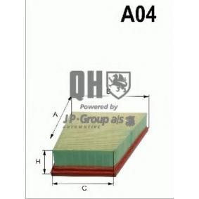 Luftfilter 1518611009 för VOLVO S80 till rabatterat pris — köp nu!