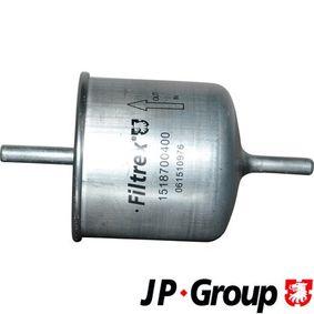 palivovy filtr 1518700400 JP GROUP Zabezpečená platba – jenom nové autodíly