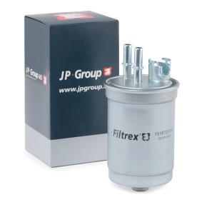 palivovy filtr 1518700700 s vynikajícím poměrem mezi cenou a JP GROUP kvalitou