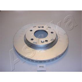 Bremsscheiben 60-0H-012 ASHIKA Sichere Zahlung - Nur Neuteile