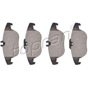 Sada brzdových platničiek kotúčovej brzdy 401 667 pre MERCEDES-BENZ nízke ceny - Nakupujte teraz!