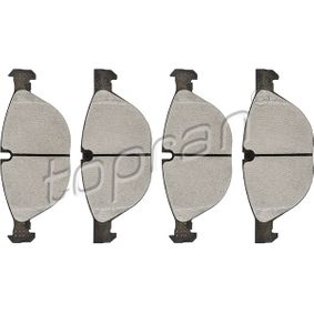Brake Pad Set, disc brake 502 099 for BMW X6 at a discount — buy now!
