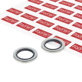 Těsnění, palivový filtr 100 846 TOPRAN Zabezpečená platba – jenom nové autodíly