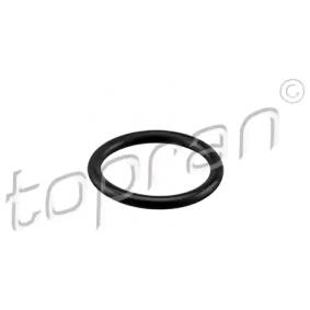 TOPRAN Tömítőgyűrű, hűtőfolyadék csővezeték 114 297 - vásároljon bármikor