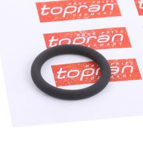 TOPRAN уплътнение, пръчка за мерене нивото на маслото 114 375 купете онлайн денонощно