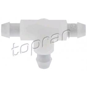 Pērc TOPRAN Savienotājs, Stiklu apskalotāja cauruļvads 208 349 jebkurā laikā