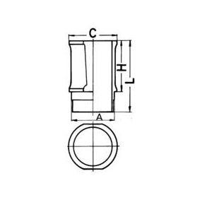 KOLBENSCHMIDT Zylinderlaufbuchse 89301110 Günstig mit Garantie kaufen