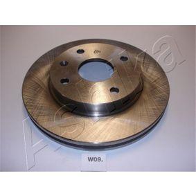 Bremsscheibe von ASHIKA - Artikelnummer: 60-0W-009