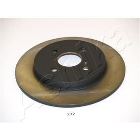 Brake Disc 61-02-232 ASHIKA Secure payment — only new parts