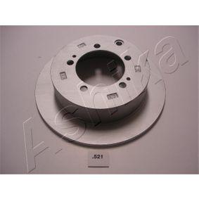 Disque de frein 61-05-521 ASHIKA Paiement sécurisé — seulement des pièces neuves