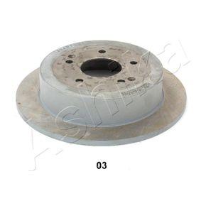 Disco de travão 61-0S-S03 ASHIKA Pagamento seguro — apenas peças novas