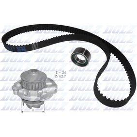 Bomba de agua + kit correa distribución KD022 DOLZ Pago seguro — Solo piezas de recambio nuevas