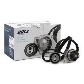 Bomba de agua + kit correa distribución KD026 DOLZ Pago seguro — Solo piezas de recambio nuevas