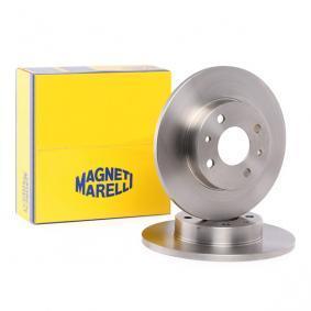 Bromsskiva 361302040169 MAGNETI MARELLI Säker betalning — bara nya delar