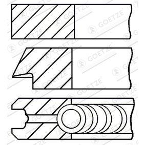 GOETZE ENGINE Set segmenti piston 08-526700-00 cumpărați online 24/24