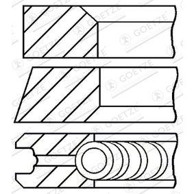 GOETZE ENGINE dugattyúgyűrű készlet 08-104107-00 - vásároljon bármikor