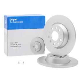 stabdžių diskas BG3954C su puikiu DELPHI kainos/kokybės santykiu