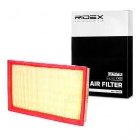 Kupte a vyměňte Vzduchový filtr RIDEX 8A0472