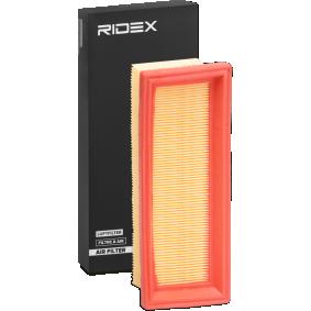 Luftfilter RIDEX 8A0314 Pkw-ersatzteile für Autoreparatur