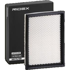 Filtr powietrza RIDEX 8A0537 kupić i wymienić