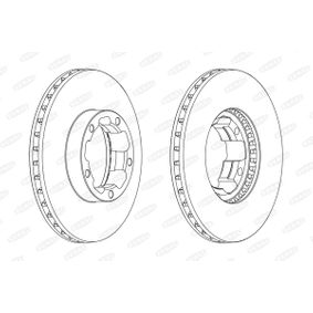 Brake Disc BCR261A BERAL Secure payment — only new parts