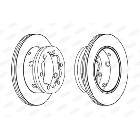 Brake Disc BCR191A BERAL Secure payment — only new parts