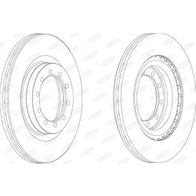 Brake Disc BCR183A BERAL Secure payment — only new parts