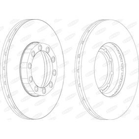 Brake Disc BCR169A BERAL Secure payment — only new parts