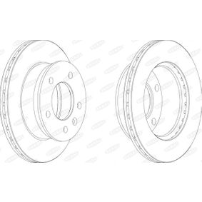 Brake Disc BCR153A BERAL Secure payment — only new parts