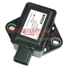 METZGER Sensor, Längs- / Querbeschleunigung 0900497 Günstig mit Garantie kaufen