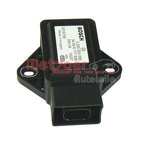 METZGER Sensor, Längs- / Querbeschleunigung 0900536 Günstig mit Garantie kaufen