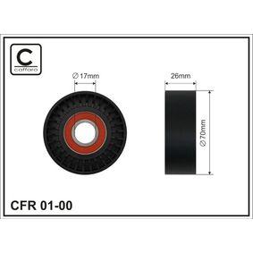 buy CAFFARO Tensioner Pulley, v-ribbed belt 01-00 at any time