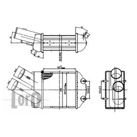 ABAKUS интеркулер (охладител за въздуха на турбината) 010-018-0001 купете онлайн денонощно