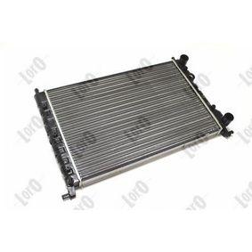 ABAKUS Chłodnica, układ chłodzenia silnika 016-017-0010 kupować online całodobowo
