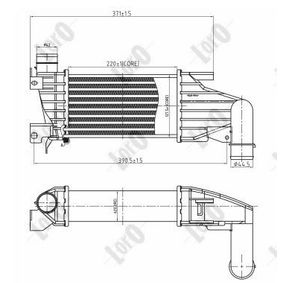 buy ABAKUS Intercooler, charger 037-018-0012 at any time