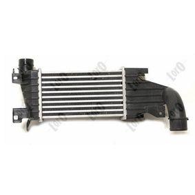 koop ABAKUS Intercooler, inlaatluchtkoeler 037-018-0012 op elk moment