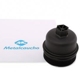 buy Metalcaucho Cover, oil filter housing 03837 at any time