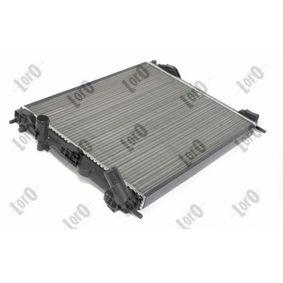 ABAKUS Chłodnica, układ chłodzenia silnika 042-017-0006 kupować online całodobowo
