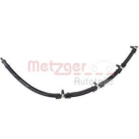 METZGER маркуч, излишно гориво 0840048 купете онлайн денонощно