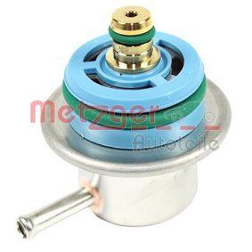 Αγοράστε METZGER Ρυθμιστής πίεσης καυσίμων 0892136 οποιαδήποτε στιγμή