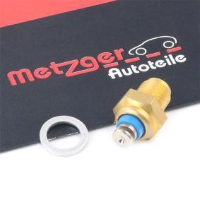 buy METZGER Sensor, oil temperature 0905412 at any time