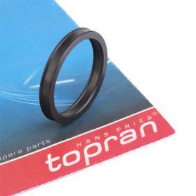 TOPRAN Dichtung, Kühlmittelrohrleitung 109 638 Günstig mit Garantie kaufen