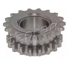 buy TOPRAN Gear, crankshaft 116 217 at any time
