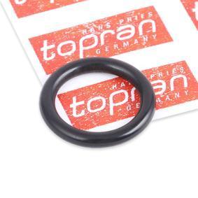 Αγοράστε TOPRAN Φλάντζα, ψυγείο λαδιού 116 452 οποιαδήποτε στιγμή