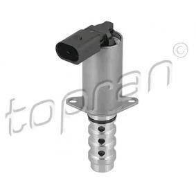 Αγοράστε TOPRAN Βαλβίδα ελέγχου, ρύθμιση εκκεντροφόρου άξονα 116 491 οποιαδήποτε στιγμή